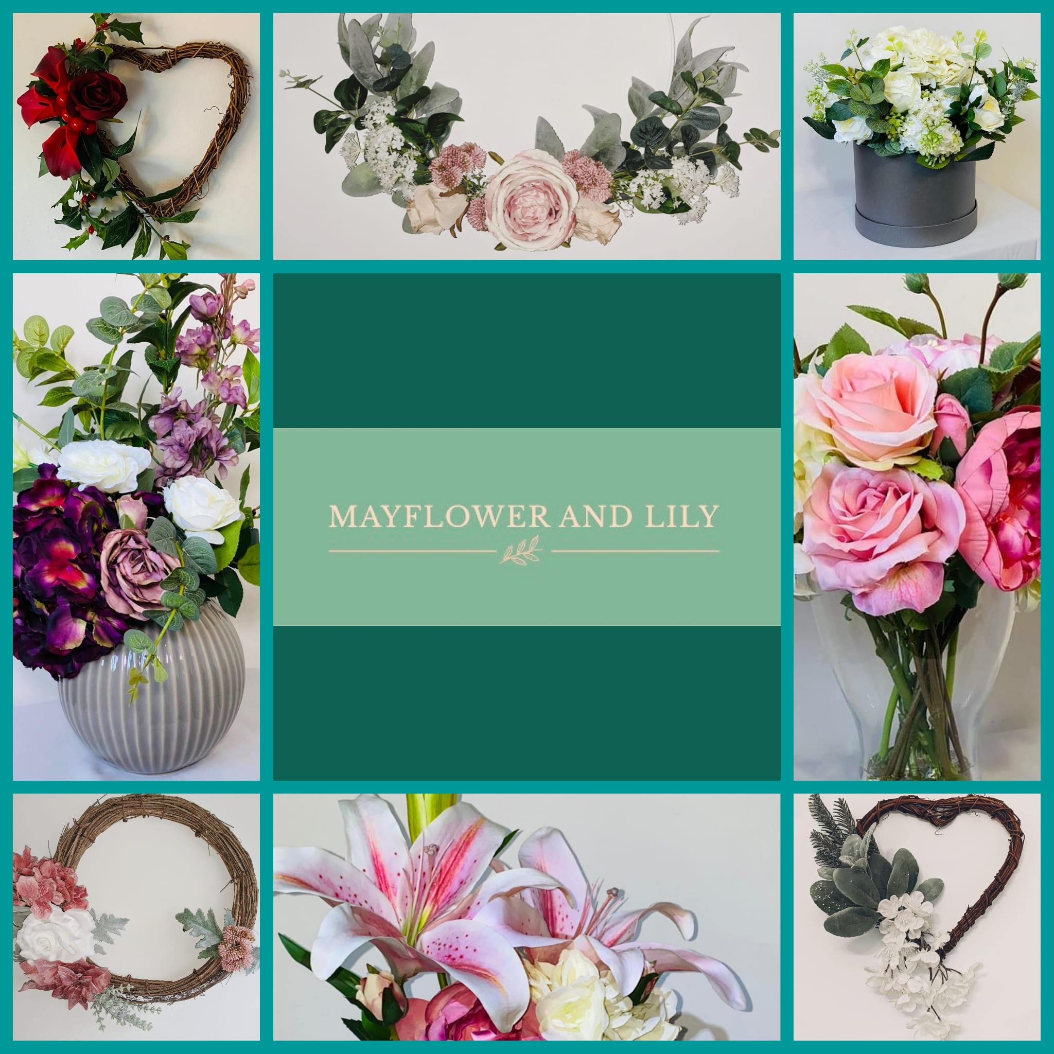 Mayflower and Lily