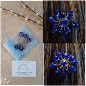 blue-floral-wedding-hair-pin