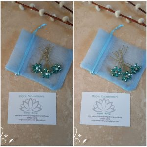 turquoise-beaded-flower-hair-pins