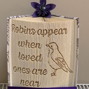 Robins Appear When Loved Ones Are Near book Fold