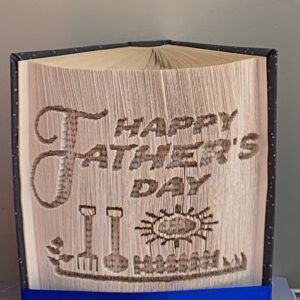 Happy Father's Day Garden Book Fold