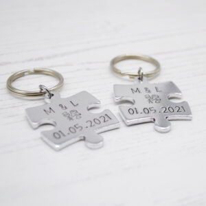 Stamped With Love - Personalised Wedding Jigsaw Pieces