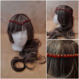 red-and-bronze-medieval-wedding-headpiece