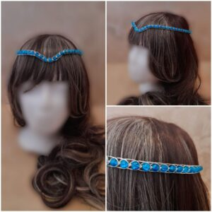 light-blue-and-silver-medieval-wedding-headpiece
