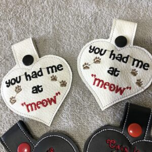 Key Ring |You Had Me at Meow